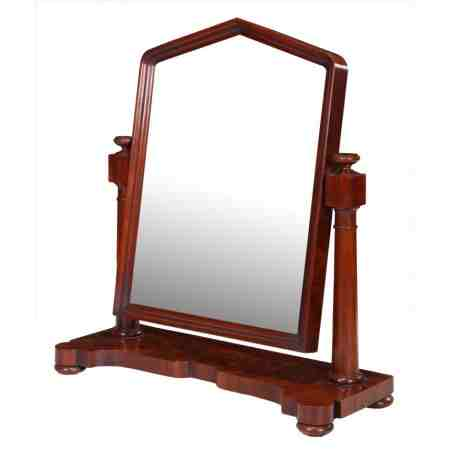 Victorian Mahogany Toilet / Dressing Table Mirror