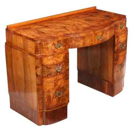 Burr Walnut Art Deco Dressing Table
