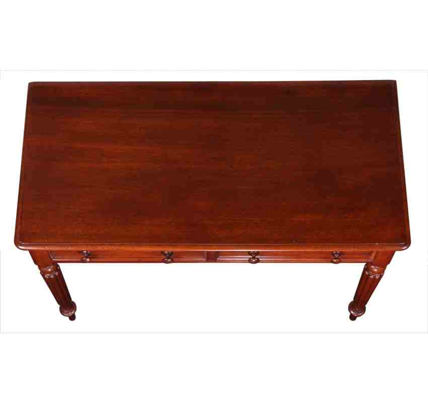 Home Antique Tables - LT Antiques Solid Mahogany Victorian Side Table