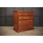 Late Victorian Walnut Chest of Drawers