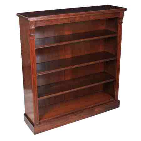 Rosewood Open Library Bookcase