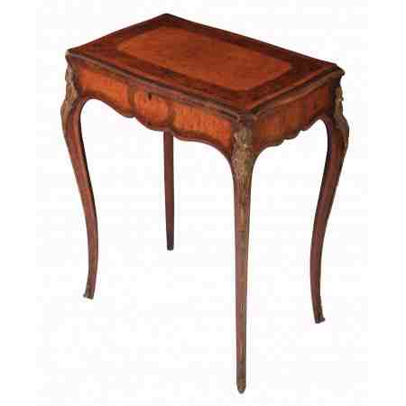 Small Edwards & Roberts Inlaid Bijouterie Table