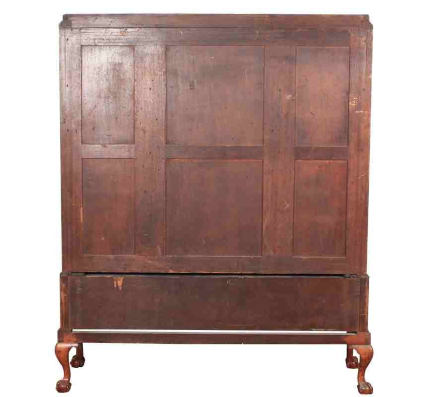 Art Deco Kitchen Cabinets: Impressive Art Deco Burr Walnut Cabinet