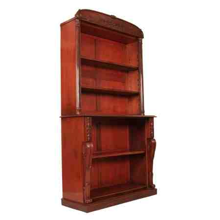 Large Library Open Bookcase