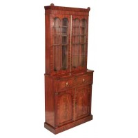 Quality Mahogany Bookcase