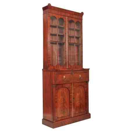 Quality Mahogany Bookcase