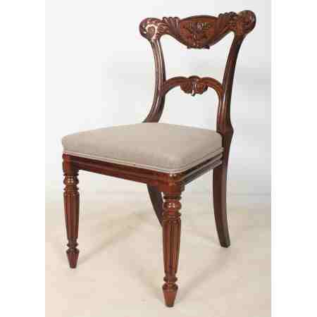 Rosewood Carved Chair