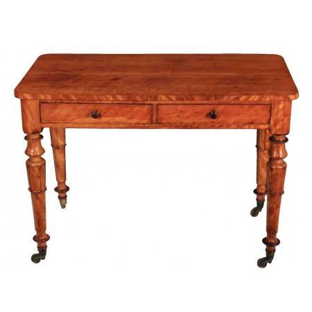 Satinwood Side Hall Table