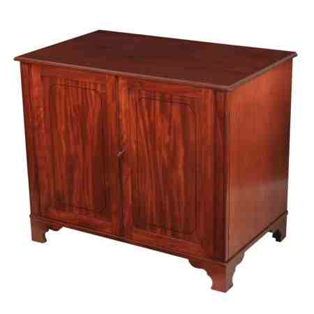 Low Regency Mahogany Cabinet