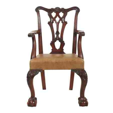 Rare Chippendale Style Childs Armchair