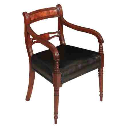 Georgian Mahogany Armchair