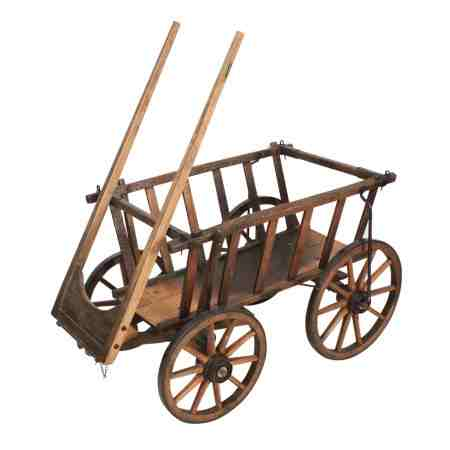 Oak Goat / Donkey Cart