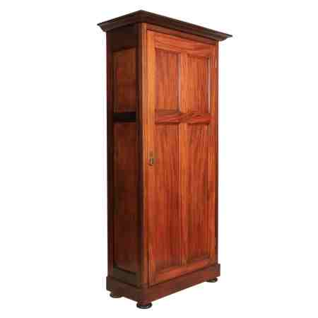 Walnut Single Door Cupboard