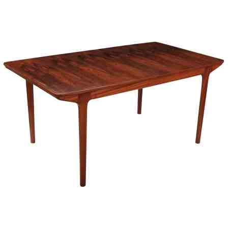 Mid Century Rosewood Extending Dining Table
