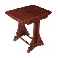 Magnificent & Rare Regency Mahogany Pembroke Table