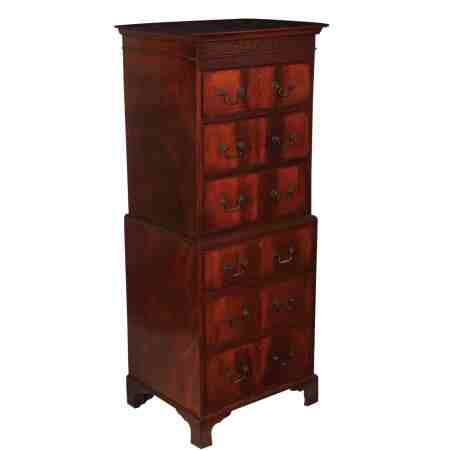 Small Mahogany Tallboy