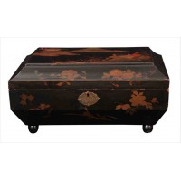 Chinoiserie Lacquered Jewellery Trinket box