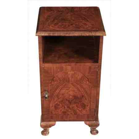 Queen Anne Style Walnut Cabinet