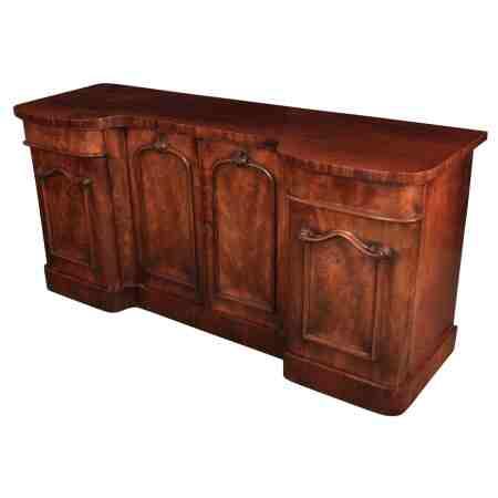 Large Victorian Mahogany Sideboard