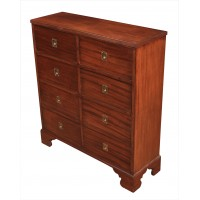 Military Style Mahogany Chest
