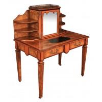 19th Century Inlaid Walnut Writing Table