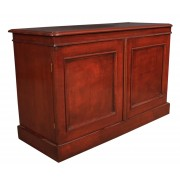 Low Mahogany Side Cabinet