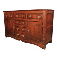 Early 18th Century Oak Dresser Sideboard