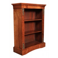 Marquetry Inlaid Open Bookcase