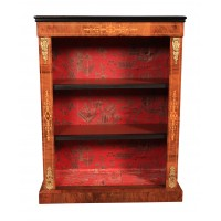 19th Century Marquetry Inlaid Bookcase