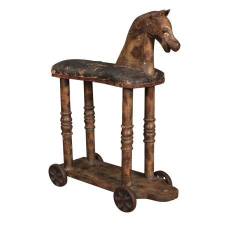 Rare and Early Georgian Childs Toy Horse