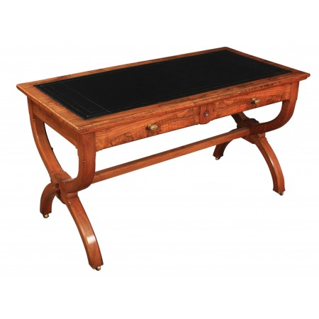 Victorian Walnut Gothic Writing Table