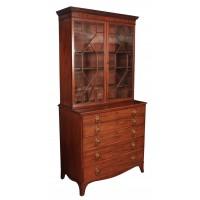 Mahogany Secrétaire Bookcase C.1800