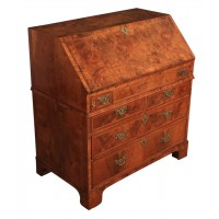 Queen Anne Walnut Bureau