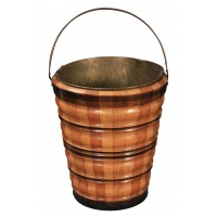 Wooden Peat Bucket
