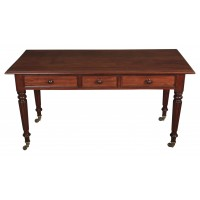 Large Victorian Mahogany Side/Serving Table