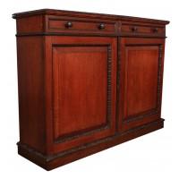Victorian Oak Side Cabinet