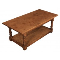 Distressed & Bleached Oak Coffee Table