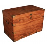 Very Large Camphor Wood Military Blanket Box
