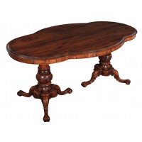 Shaped Rosewood Centre Table