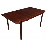 Vintage Rosewood Danish Style Dining Table