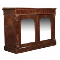 Magnificent Quality Burr Walnut Side Cabinet