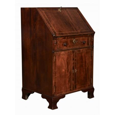 Rare Small Regency Bureau Writing Desk