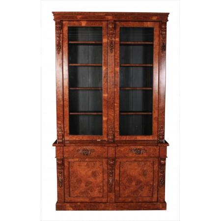 Large Pollard Oak Bookcase