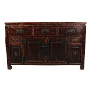 Chinese Painted Elm Sideboard