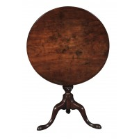 18th Century Mahogany Tip Top Occasional Table