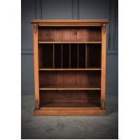 Light Oak Open Bookcase