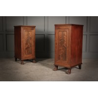 Pair of Regency Mahogany Bedsides