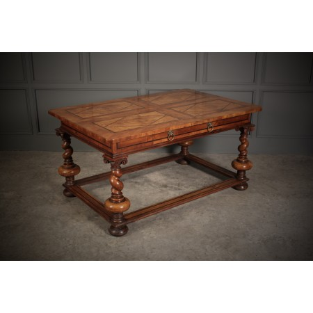 Impressive Dutch Walnut Centre Table