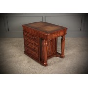 Unusual Small Victorian Mahogany Desk