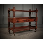 Mahogany 3 Tier Buffet